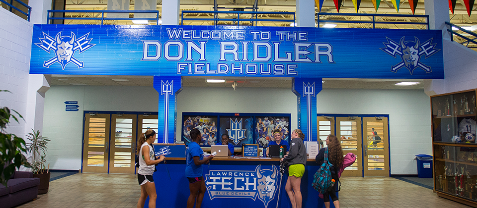 Don Ridler Field House, LTU's home courts