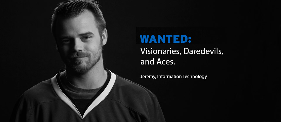 Jeremy IT Student, Banner