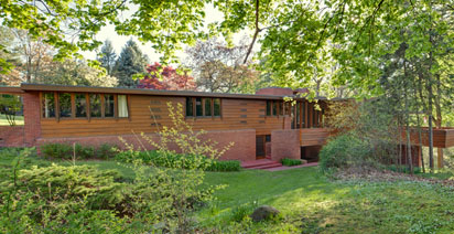 LTU's Frank Lloyd Wright-designed Affleck House