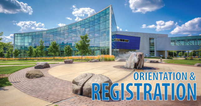 orientation and registration