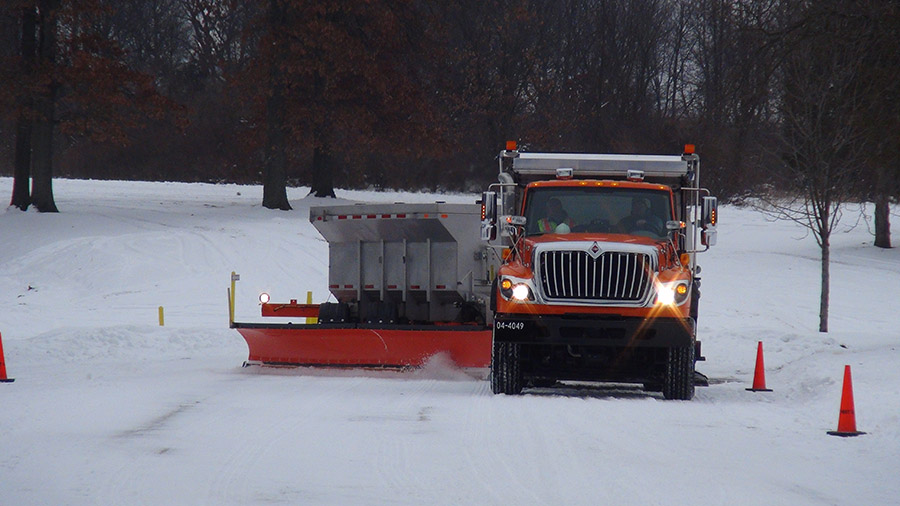 LTU study finds 'tow plows' will clear snowy roads faster